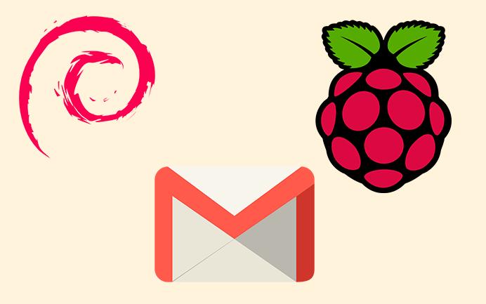 Enviar email en consola de Raspbian Gmail Adjunto Mutt