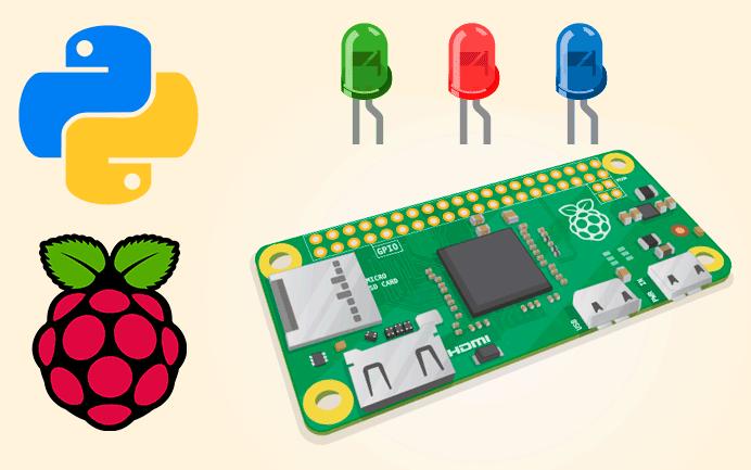 Controlar Led con GPIO Raspberry Pi en Python