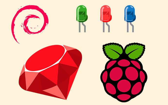 Controlar Led con GPIO Raspberry Pi en Ruby